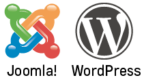 Logo Joomla WordPress
